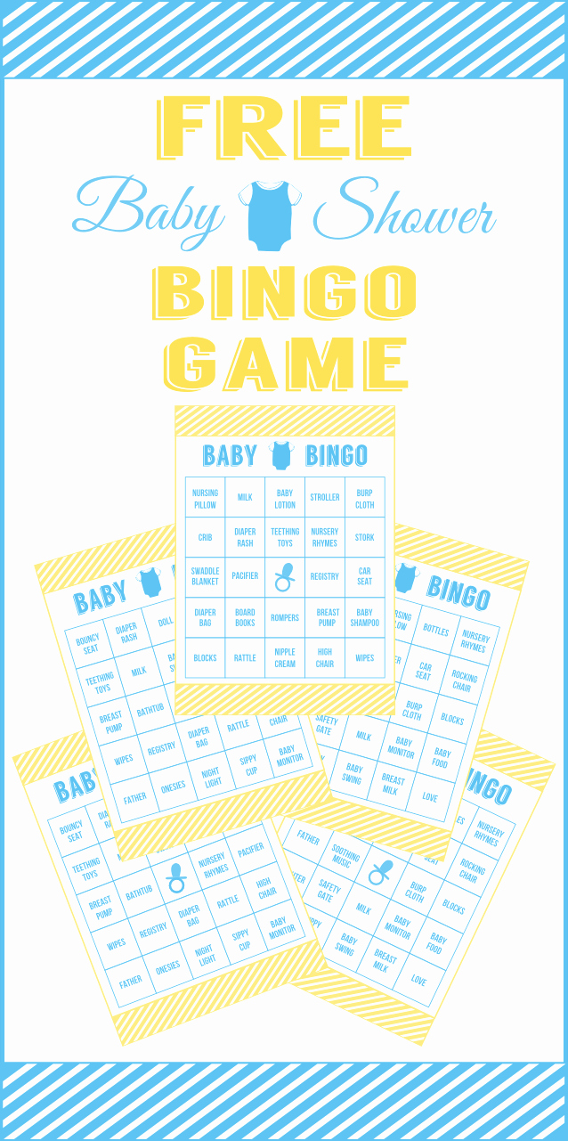 Printable Baby Shower Cards Fresh Download This Free Printable Baby Shower Bingo for Boys