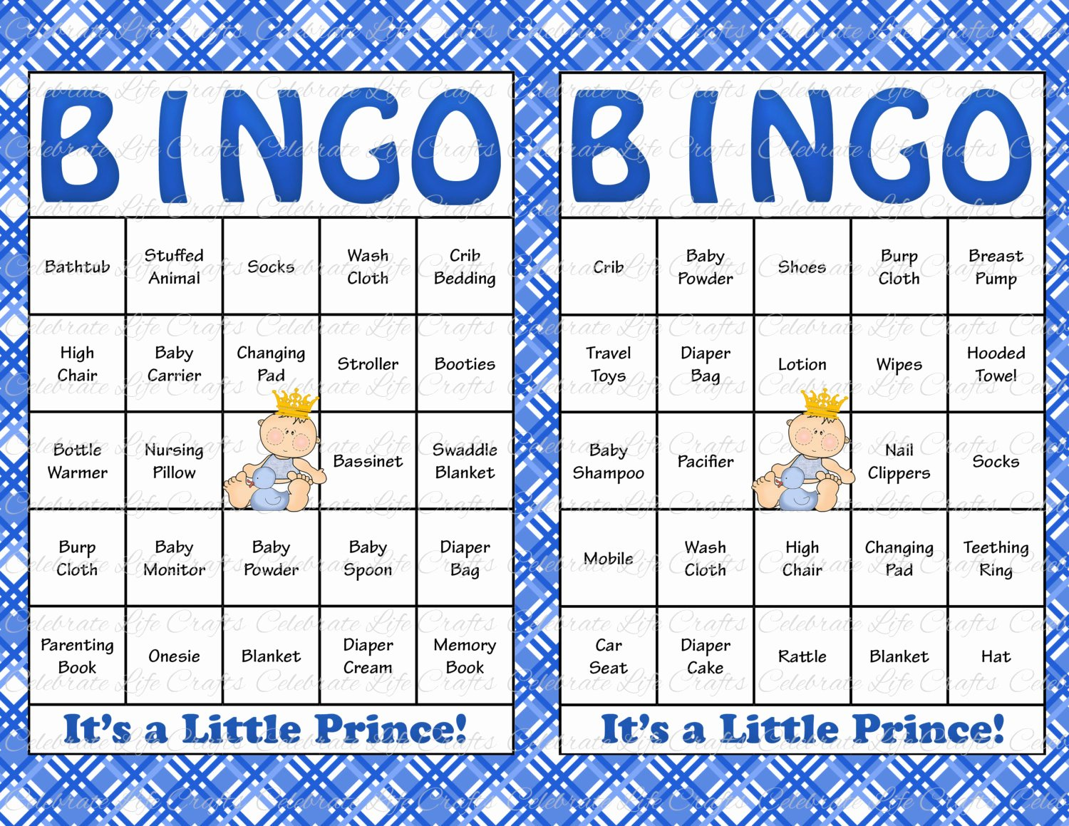 Printable Baby Shower Cards Lovely 60 Baby Shower Bingo Cards Printable Party Baby Boy
