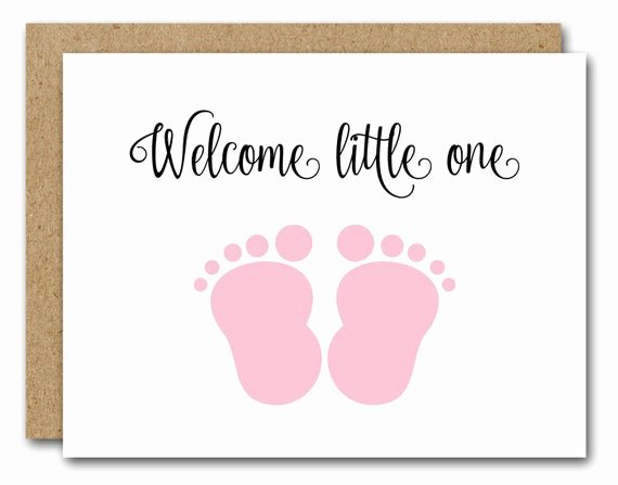Printable Baby Shower Cards New Printable New Baby Card Congratulations Baby Card Baby