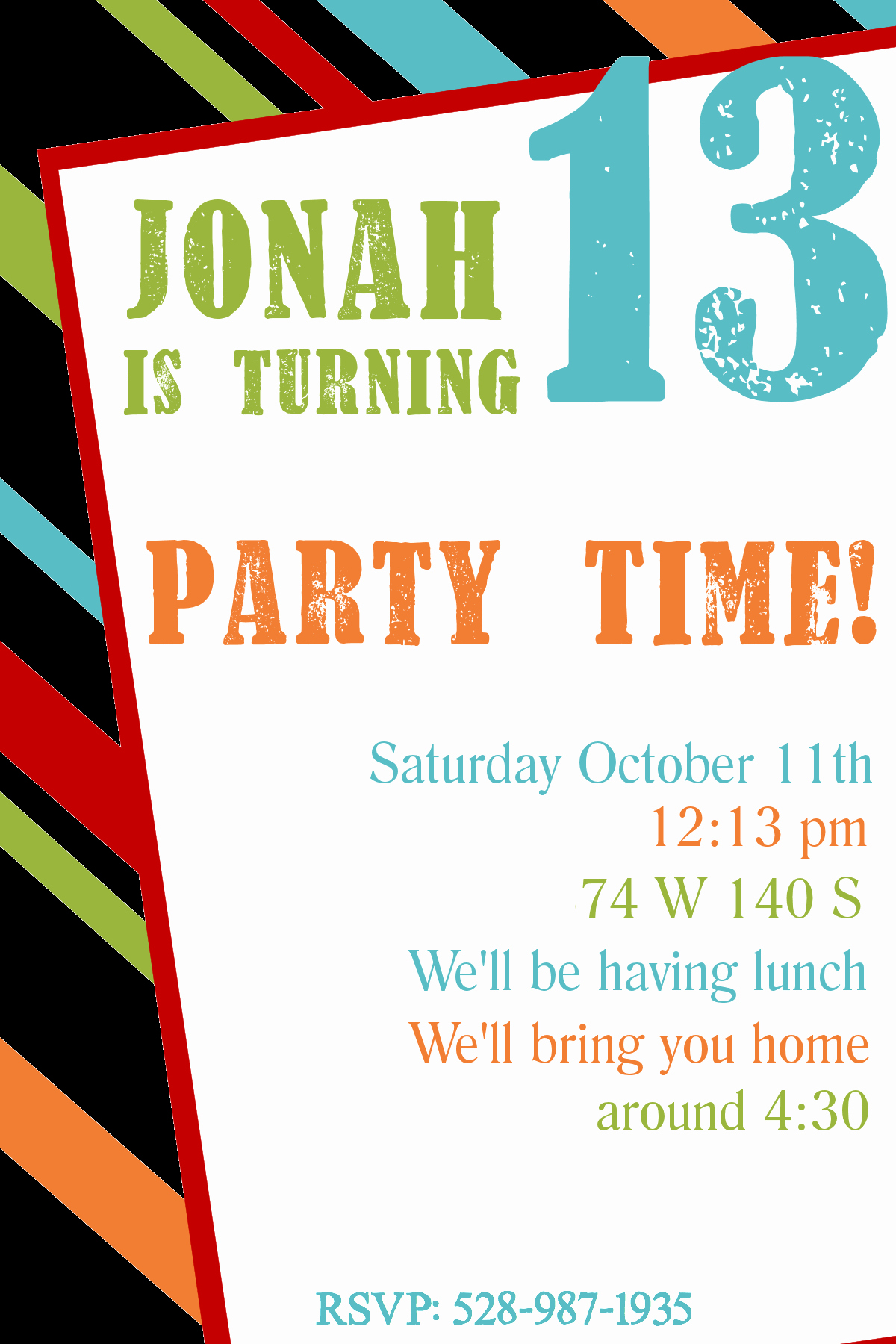 Printable Birthday Party Invitations Best Of Free Printable Birthday Invitation Templates