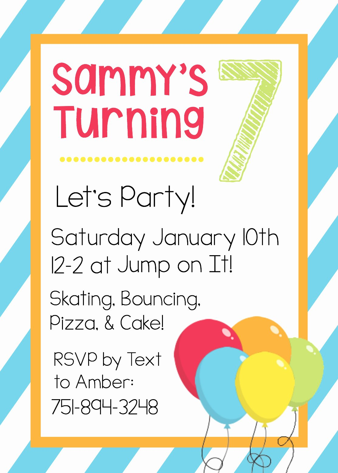 Printable Birthday Party Invitations Fresh Free Printable Birthday Invitation Templates