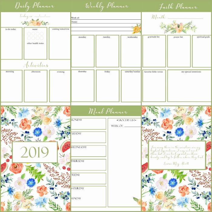 Printable Daily Planner 2019 Best Of Free Printable Calendar 2019 Monthly Calendar