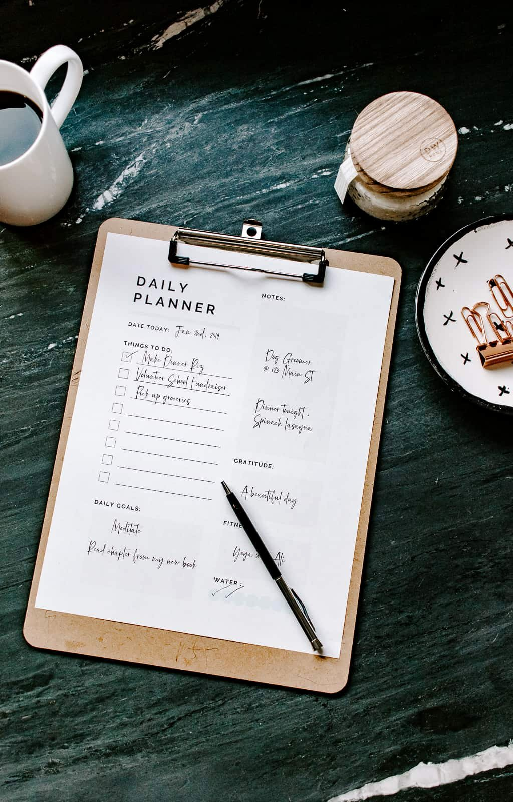 Printable Daily Planner 2019 Elegant Free Printable Daily Planner 2019 Decor Hint