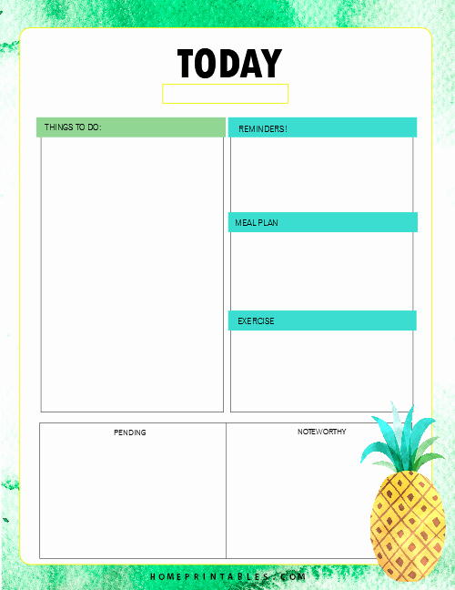 Printable Daily Planner 2019 Fresh Free Printable 2019 Planner 30 Amazing Life organizers