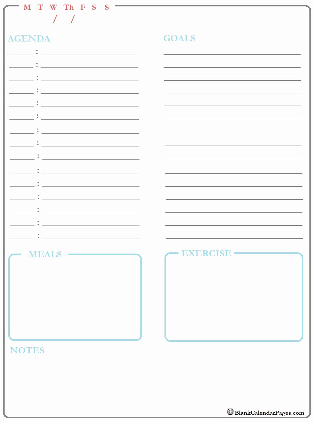 Printable Daily Planner 2019 Inspirational October 2019 Daily Calendar Template October 2019 Daily