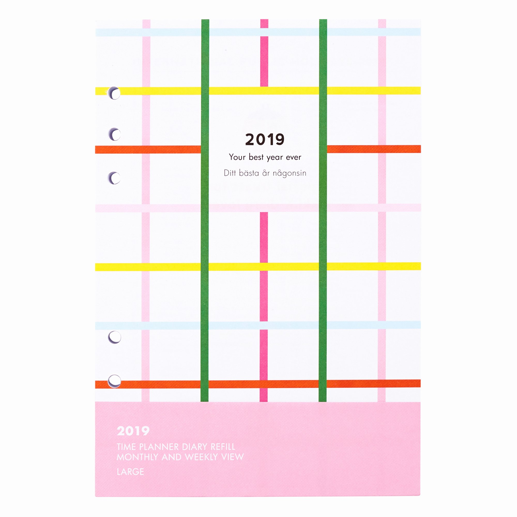 Printable Daily Planner 2019 Luxury Daily Calendar Refill 2019