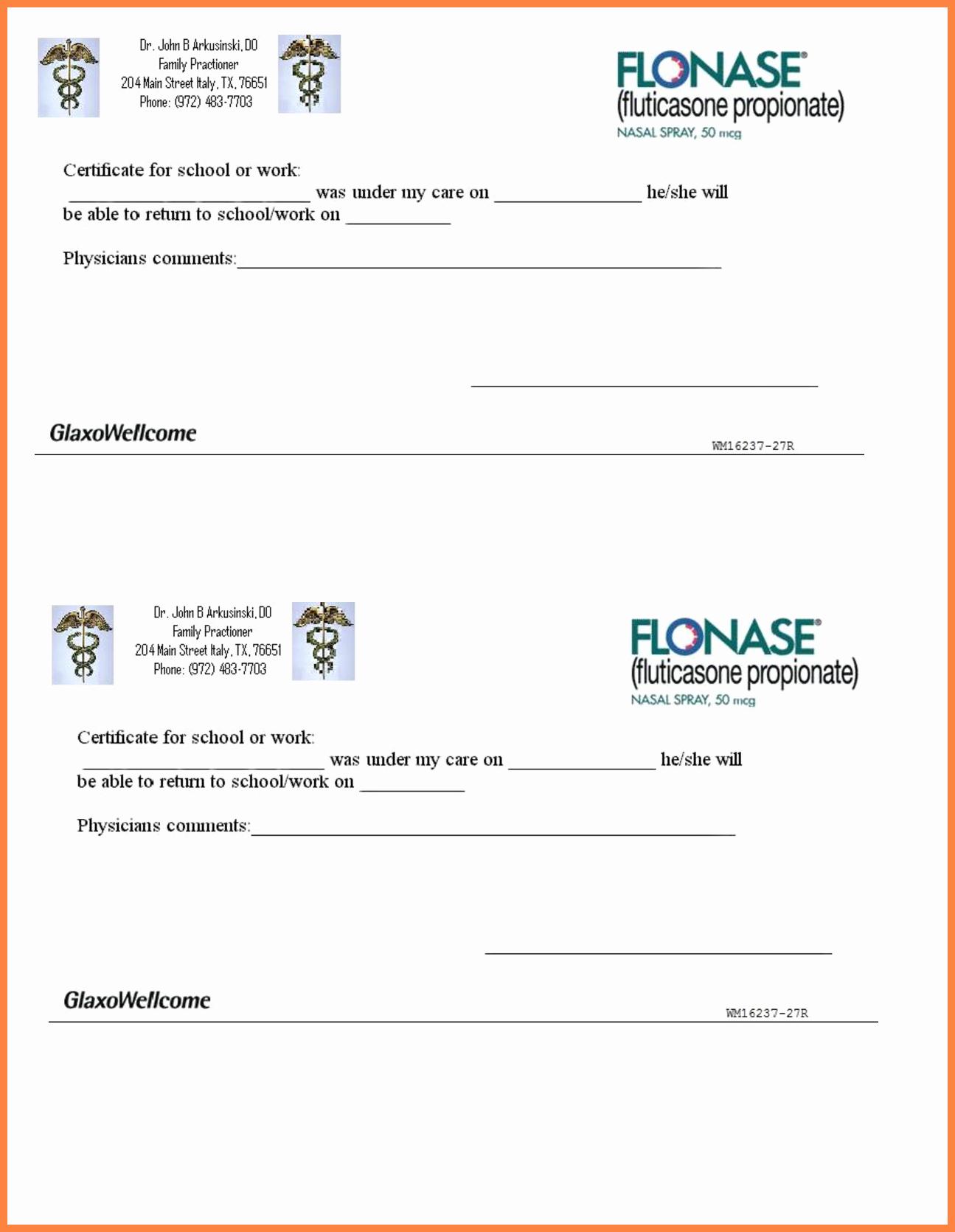 Printable Fake Doctors Notes Free Elegant 10 Printable Fake Doctors Notes Free