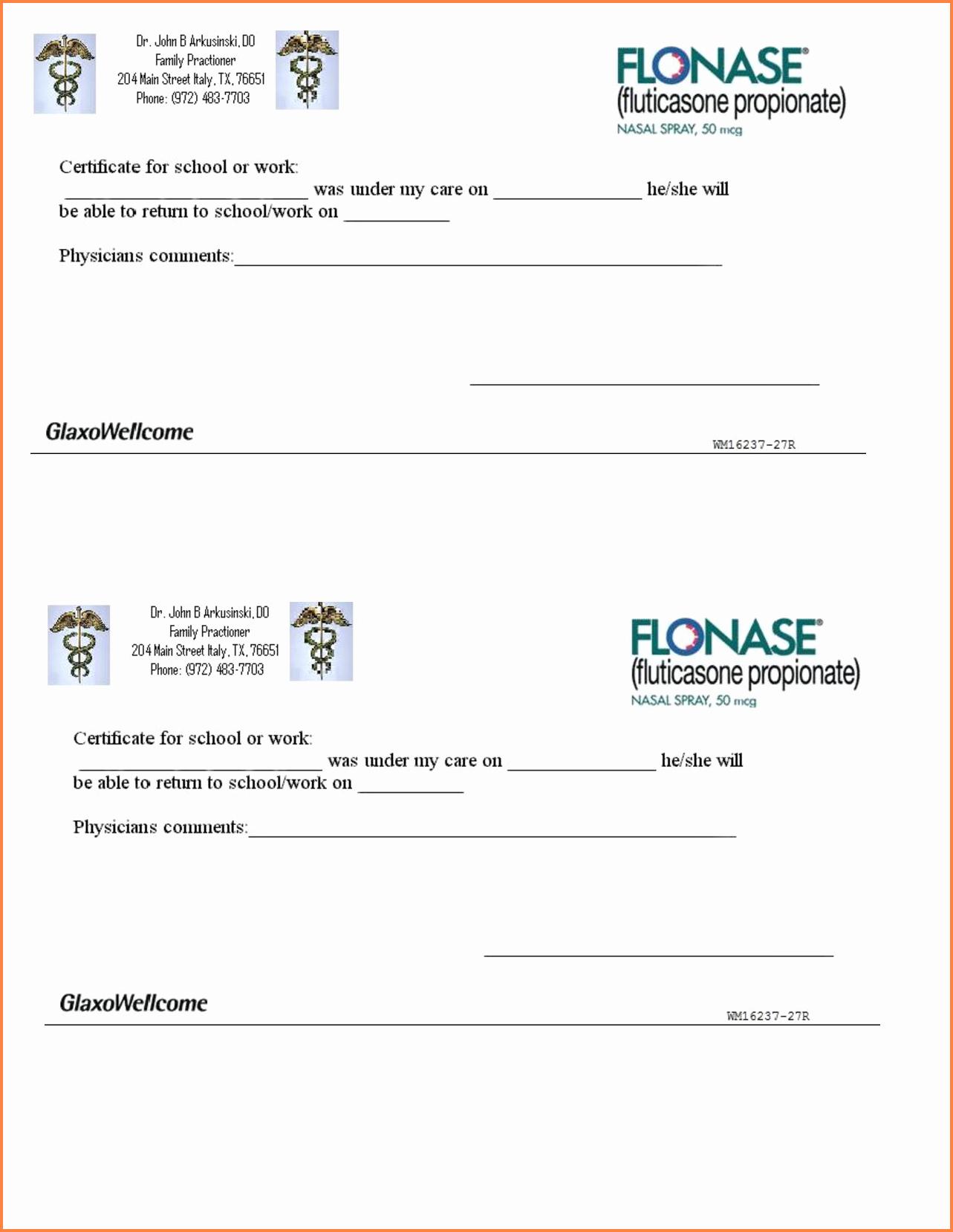 Printable Fake Doctors Notes Free Inspirational 8 Printable Fake Doctors Notes Free