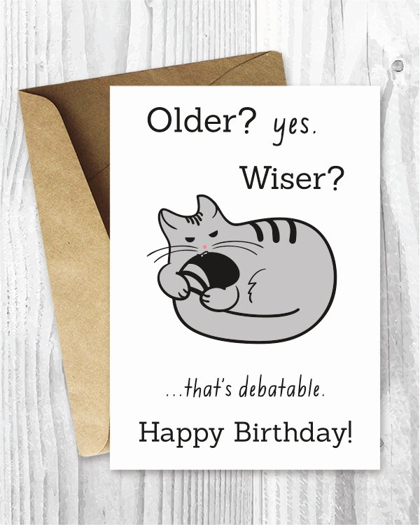 Printable Funny Birthday Card Luxury Happy Birthday Cards Funny Printable Birthday Cards Funny
