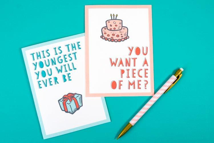 Printable Funny Birthday Cards Beautiful Free Funny Printable Birthday Cards for Adults Eight