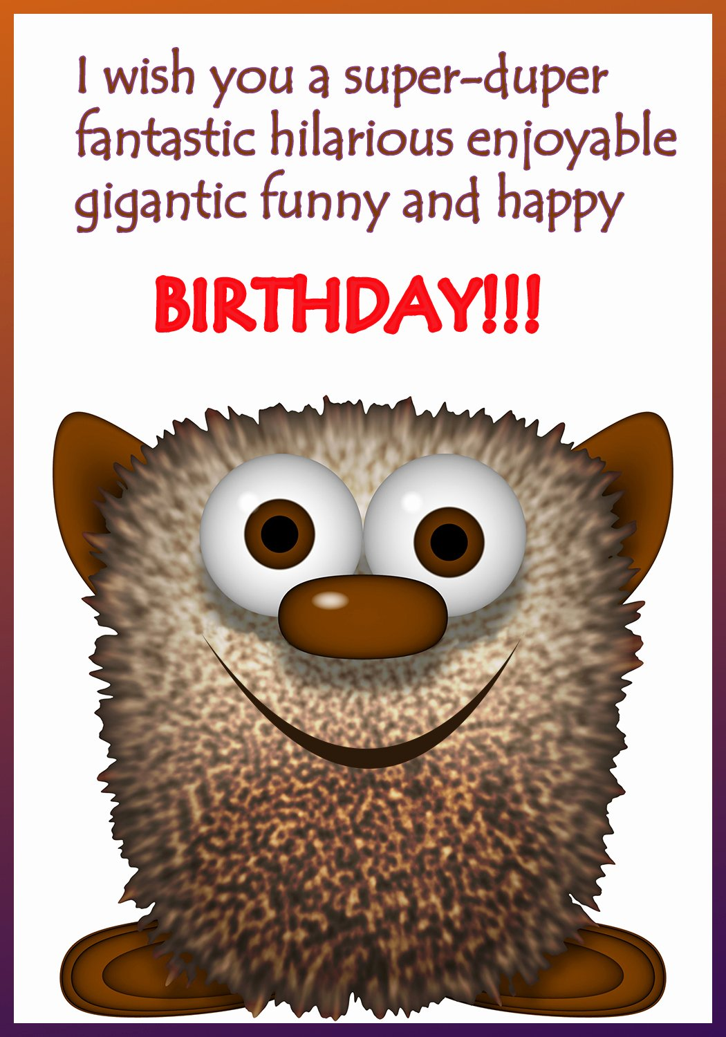 Printable Funny Birthday Cards Lovely Funny Printable Birthday Cards