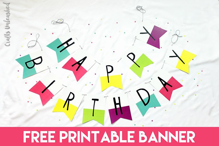 Printable Happy Birthday Banners Inspirational Free Printable Banner Happy Birthday Pennants Consumer