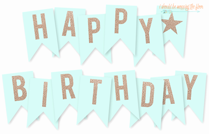 Printable Happy Birthday Banners Luxury Free Printable Happy Birthday Banner