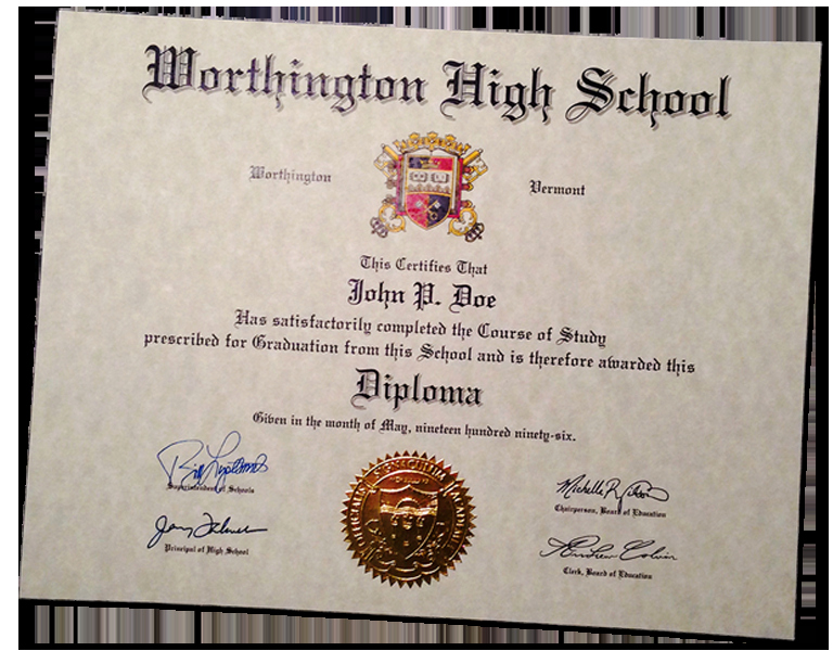 Printable High School Diploma Awesome Buy A Fake High School Diploma & Transcripts Line