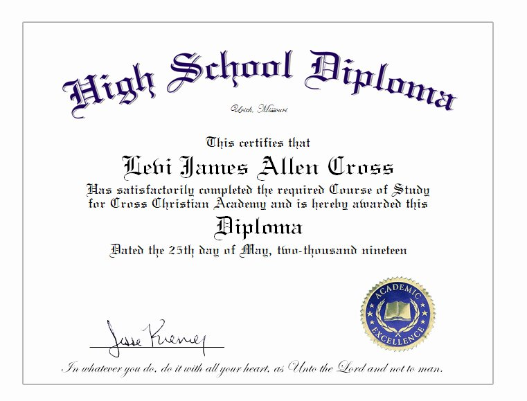 Printable High School Diploma Inspirational High School Home School Diploma Cover & Diploma Sheet $39 10