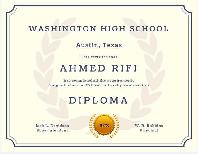 Printable High School Diploma New 60 Free High School Diploma Template Printable