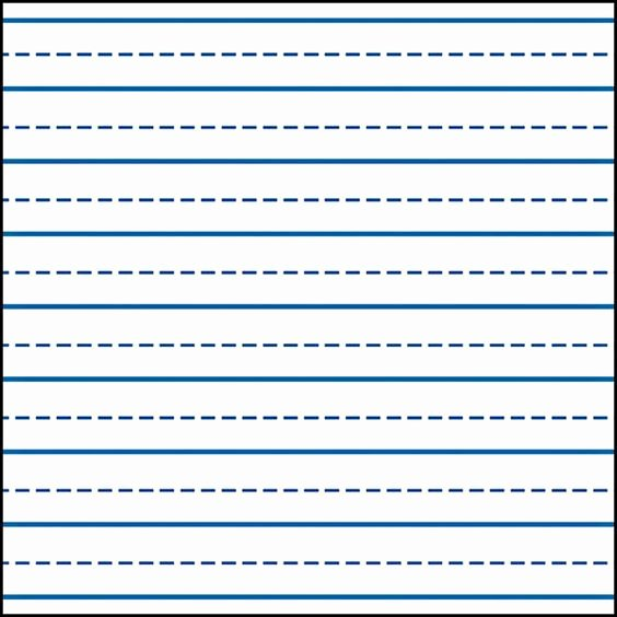 Printable Kindergarten Writing Paper Beautiful Writing Lines for Kindergarten