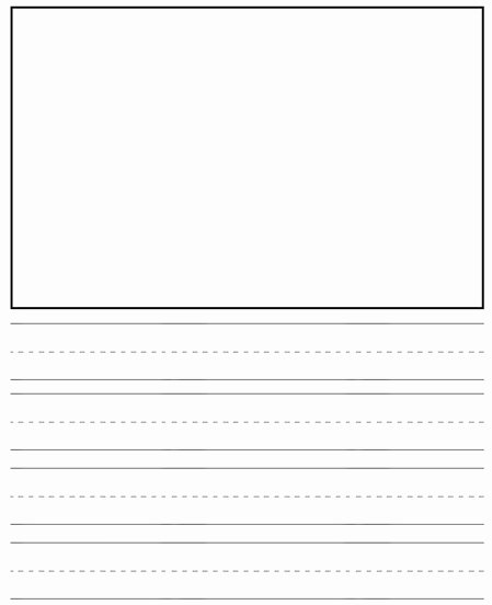 Printable Kindergarten Writing Paper Elegant Best S Of Printable Kindergarten Paper Printable