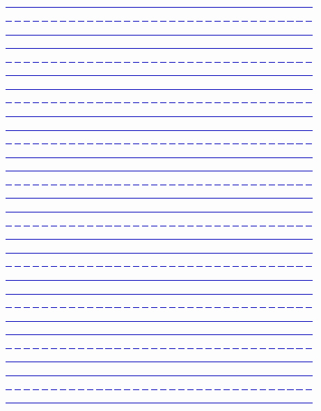Printable Kindergarten Writing Paper Inspirational Printable Handwriting Paper New Calendar Template Site