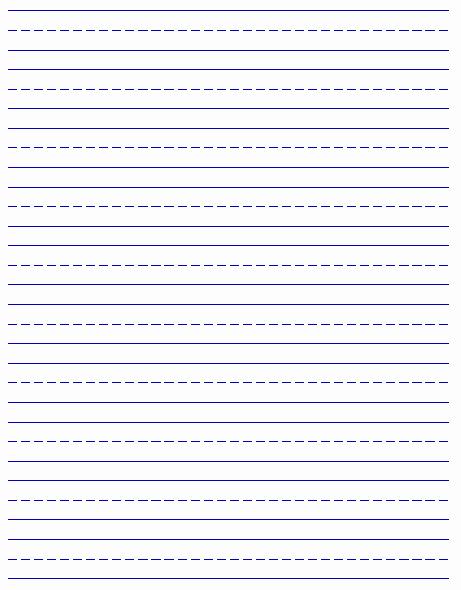 Printable Kindergarten Writing Paper Inspirational Printable Handwriting Paper New Calendar Template Site