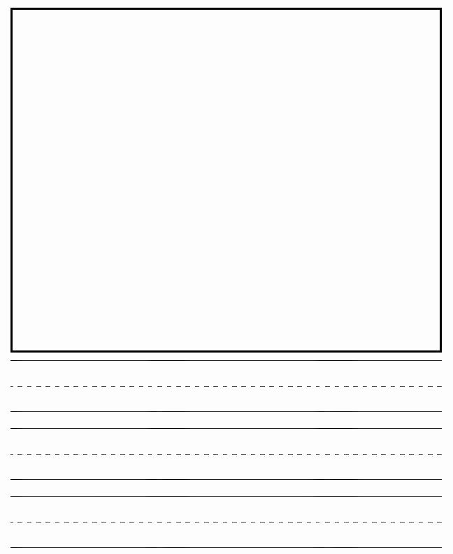 Printable Kindergarten Writing Paper Lovely 16 Best Of Sentence Prehension Worksheets