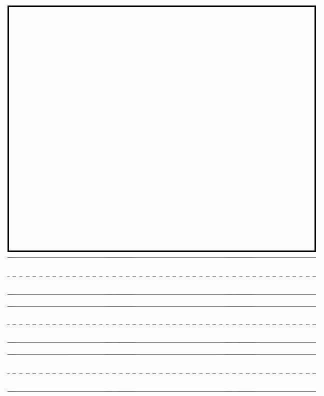Printable Kindergarten Writing Paper Lovely 16 Best Of Sentence Prehension Worksheets