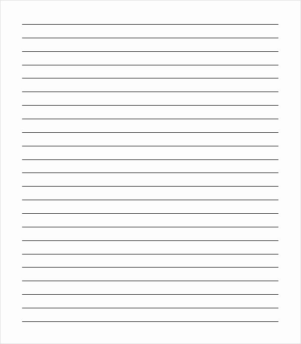 Printable Lined Paper Pdf Beautiful Best S Of Notebook Paper Template Pdf Loose Leaf