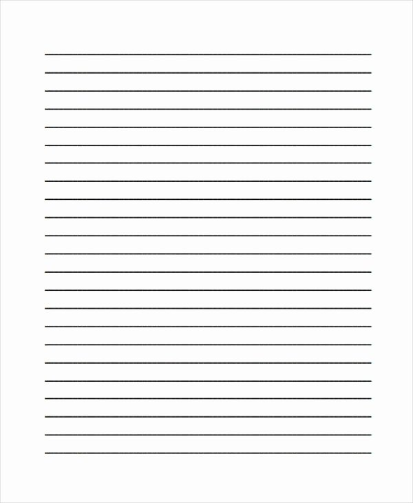 Printable Lined Paper Pdf Best Of 25 Free Lined Paper Templates