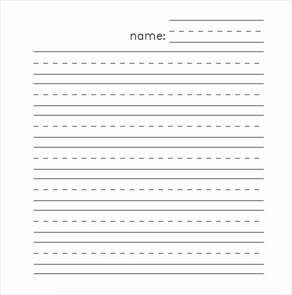 Printable Lined Paper Pdf Lovely Lined Paper Template – 12 Free Word Excel Pdf Documents