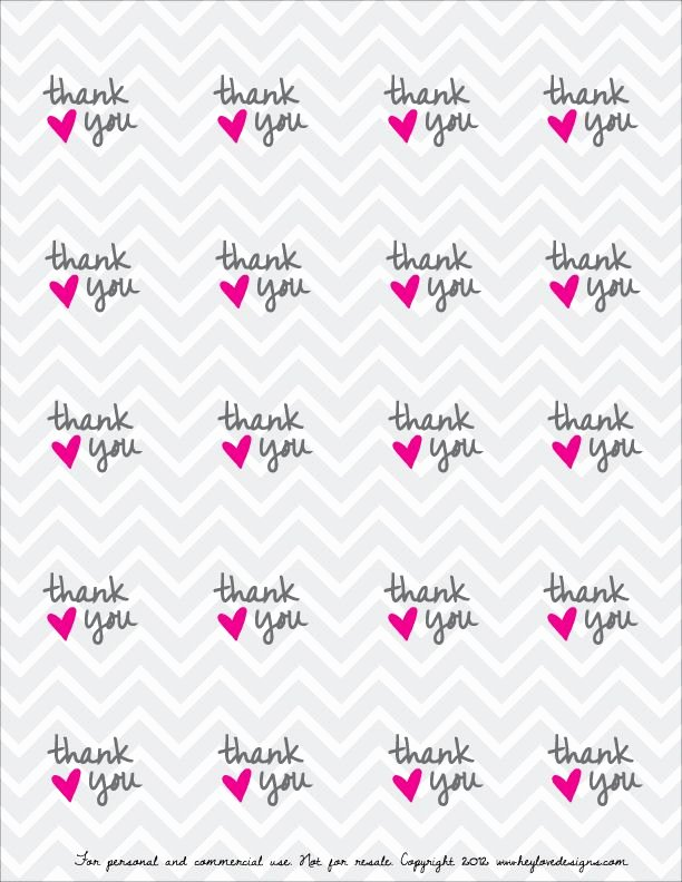 Printable Thank You Tags Elegant Free Printable Thank You Favor Tags