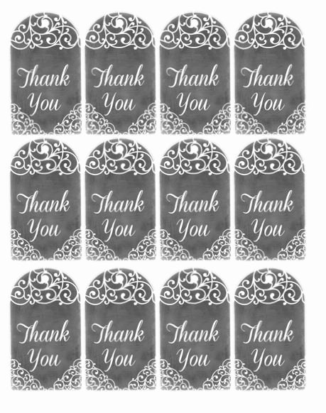Printable Thank You Tags Inspirational 17 Best Images About Teacher Appreciate Week On Pinterest