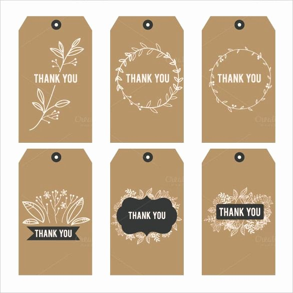 Printable Thank You Tags Lovely Free Printable Thank You Stickers