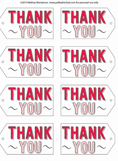 Printable Thank You Tags Unique Project Teen Book tour Round Up & Free Printable Gift Tags