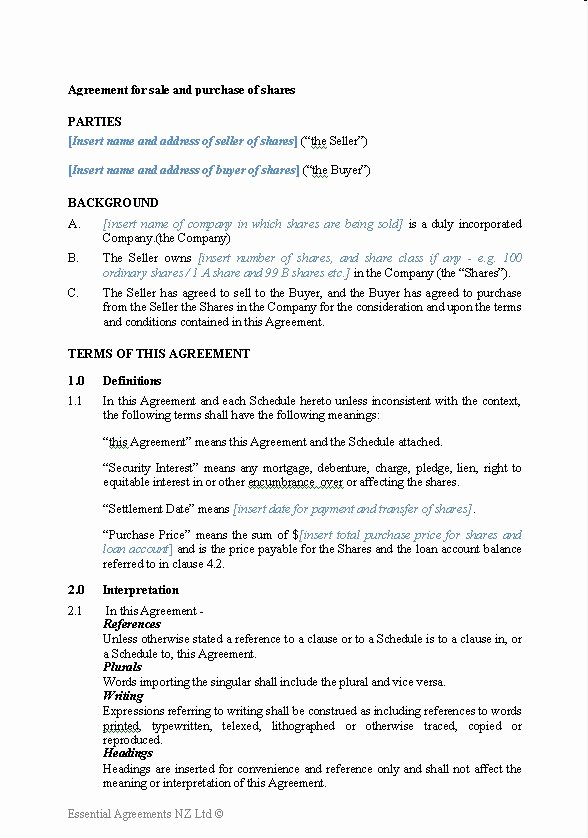 Printable Vehicle Purchase Agreement Lovely Free Printable Sale Contract form Generic