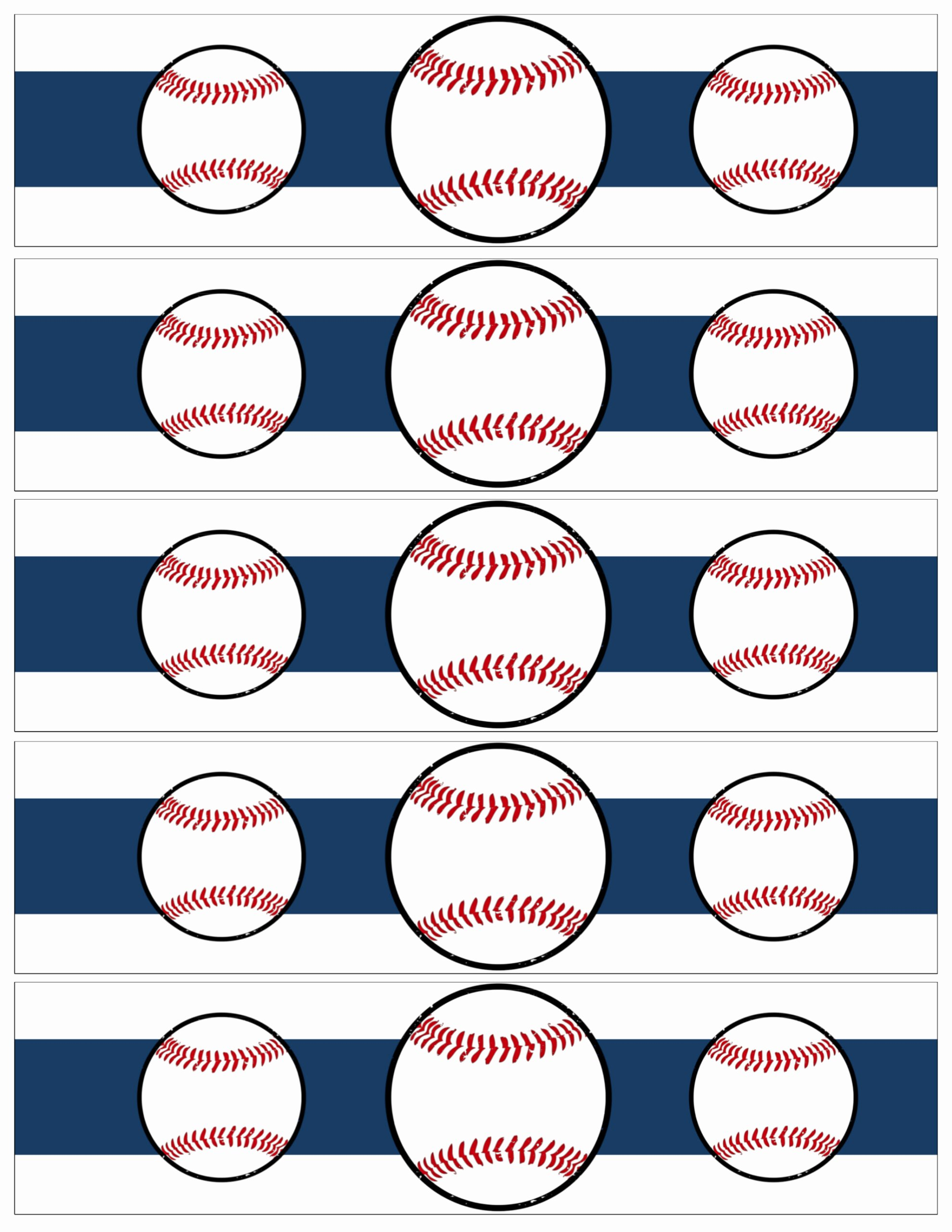 Printable Water Bottle Labels Best Of Free Printable Baseball Water Bottle Labels Paper Trail