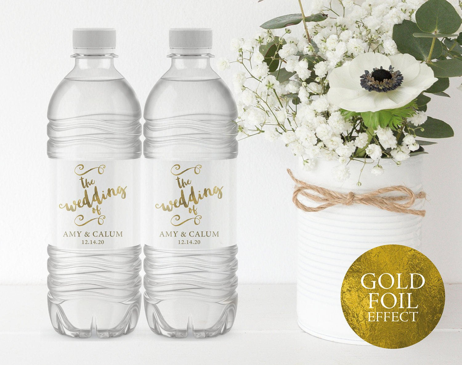 Printable Water Bottle Labels Best Of Wedding Water Bottle Label Printable Water Bottle Label