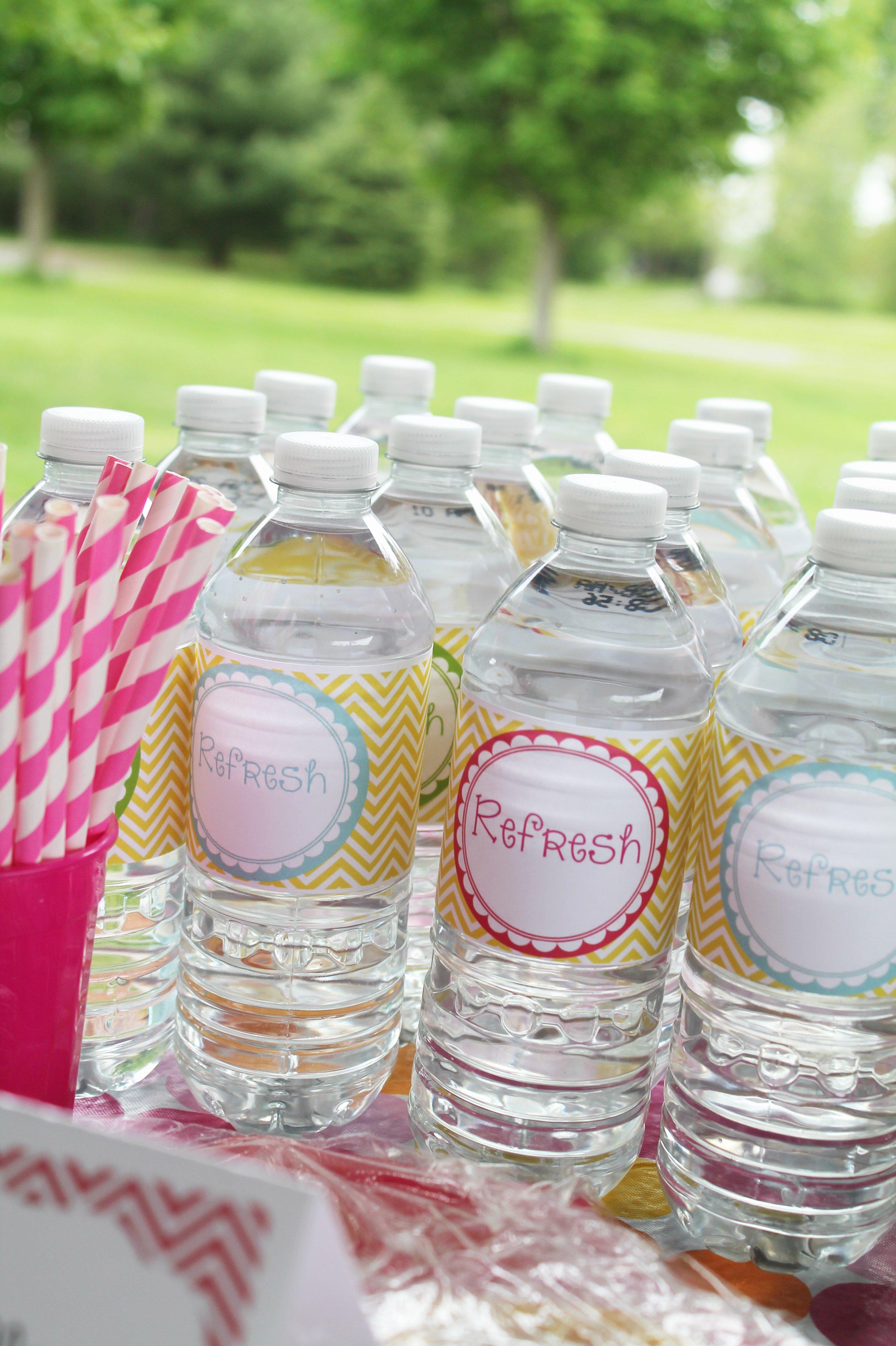 Printable Water Bottle Labels Elegant Custom Juice Box Label Printable Freebie