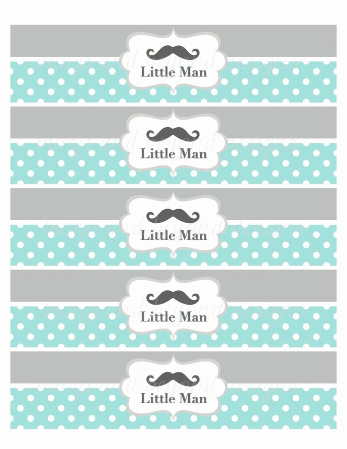 Printable Water Bottle Labels Fresh 22 Custom Printable Water Bottle Labels