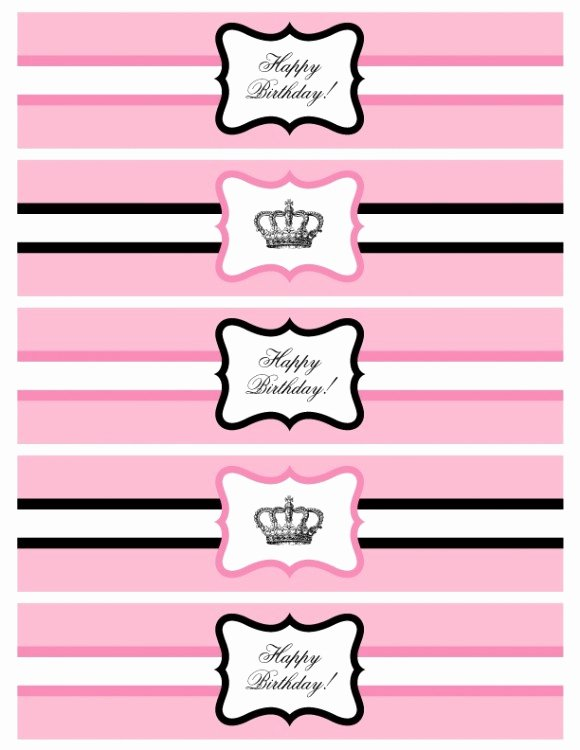 Printable Water Bottle Labels Lovely Over the top Dessert Tables Bollywood Parties and Pretty