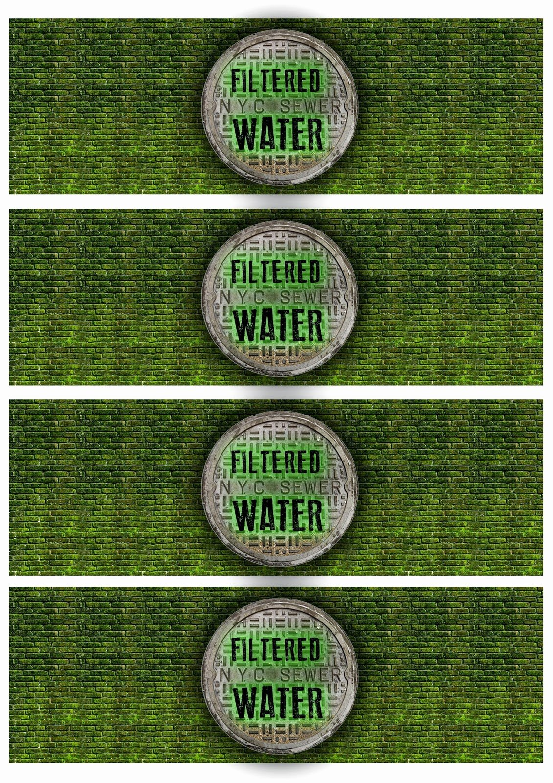 Printable Water Bottle Labels Luxury Great Fun Etc Ninja Turtle Tmnt Party Free Printables