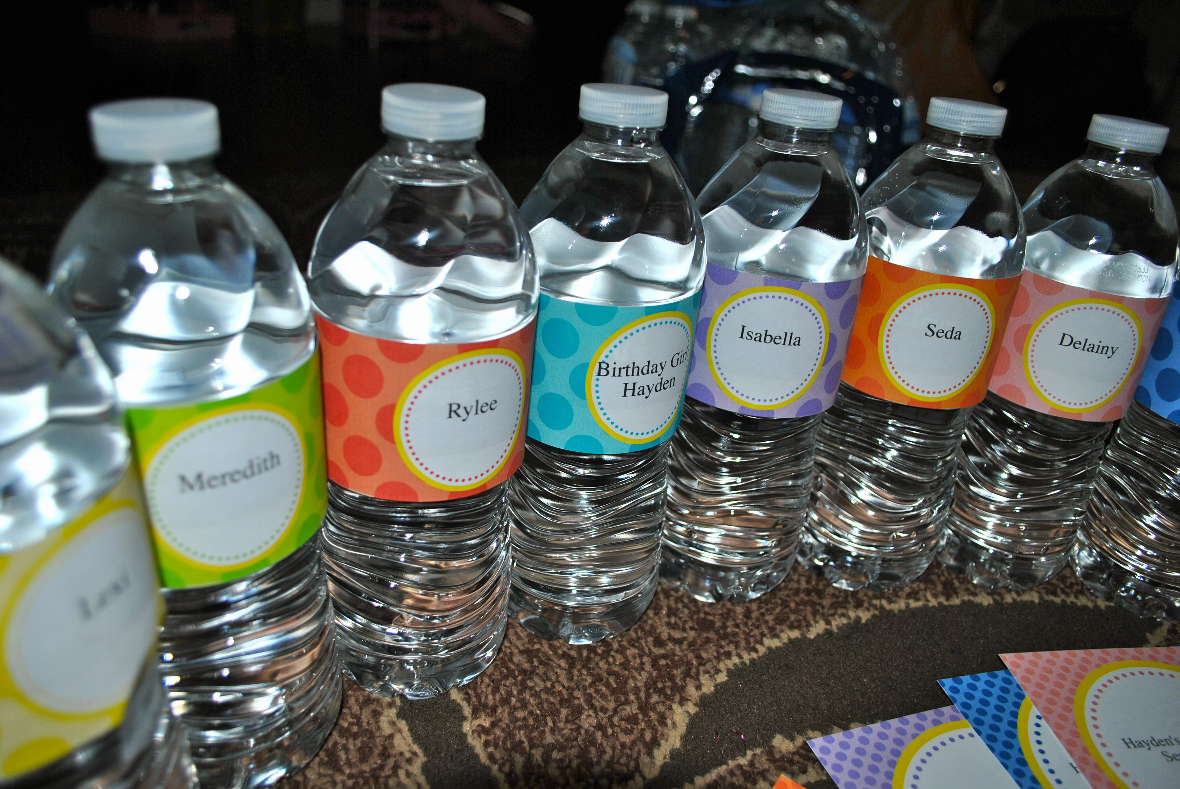 Printable Water Bottle Labels New Day 137 Crafty Free Printable Fill In Water Bottle
