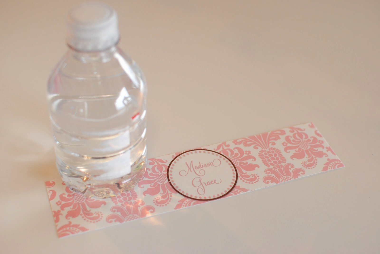 Printable Water Bottle Labels New Life Sweet Life Diy Printable Water Bottle Labels