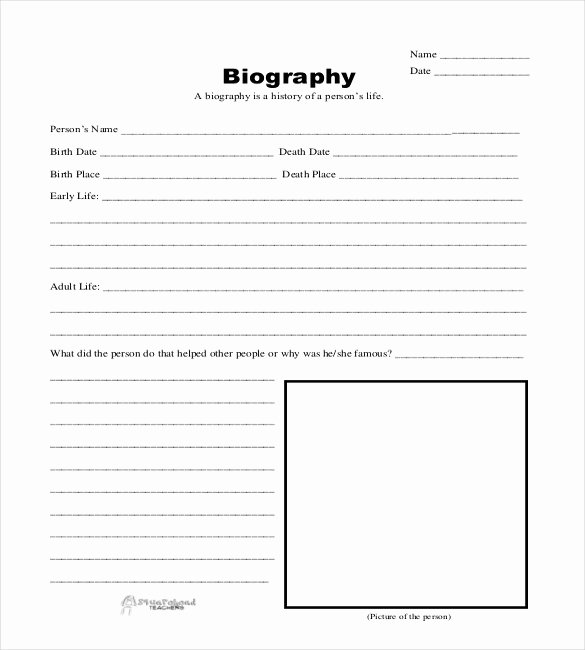 Professional Bio Template Word Fresh Bio Sheet Template Free Download Aashe