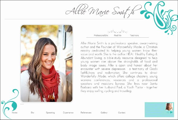 Professional Bio Template Word New Professional Bio Template