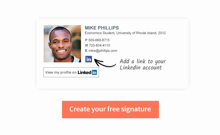 Professional Email Signature Student Best Of Email Signature for College Students Wisestamp Email Goo S