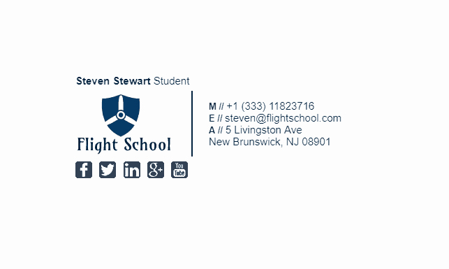 Professional Email Signature Student Luxury College Student Email Signature Tips and Examples
