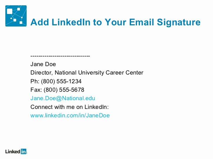 Professional Email Signature Student New 2 Enhance the Brand and