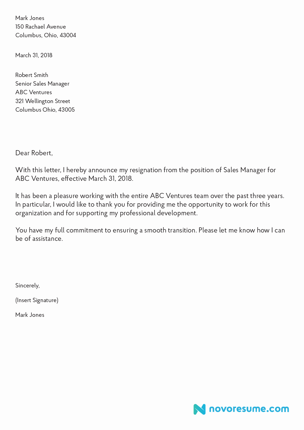 Professional Letter Of Resignation Fresh How to Write A Letter Of Resignation – 2019 Extensive Guide