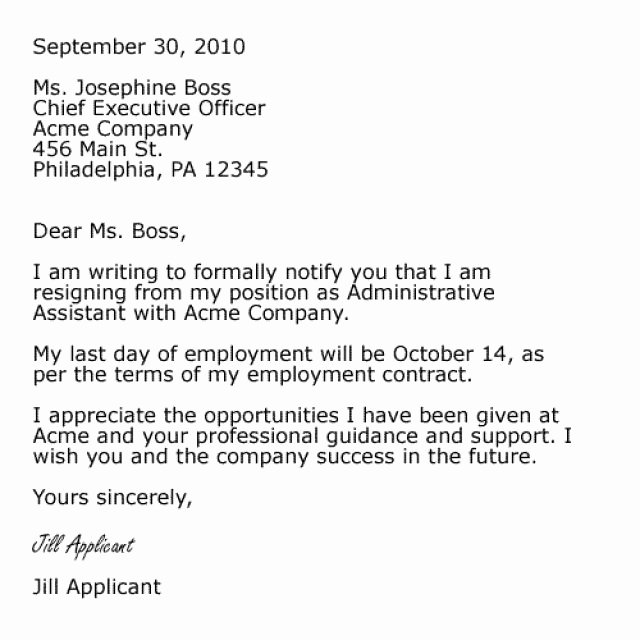 Professional Letter Of Resignation Inspirational Pin by Job Resume On Job Resume Samples