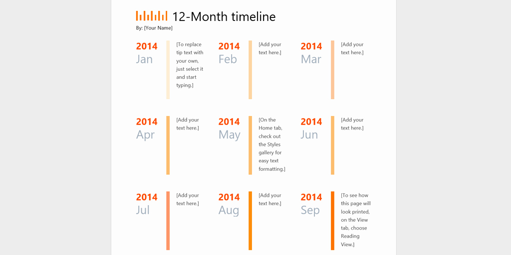 Project Timeline Template Word Awesome Every Timeline Template You'll Ever Need the 18 Best